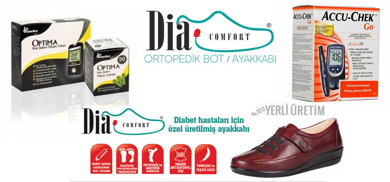 diyabet ürünleri,diyabet ayakkabısı,ortopedik ayakkabı,şeker ölçüm cihazı